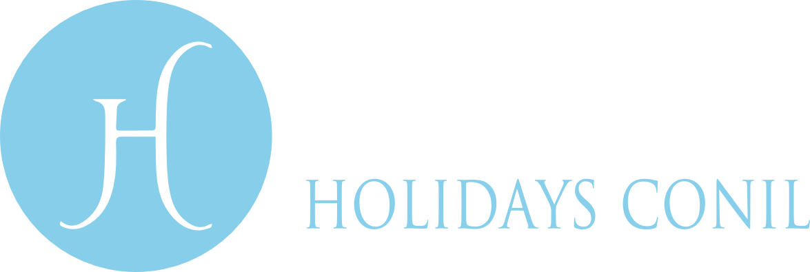 logo, holidays conil villas